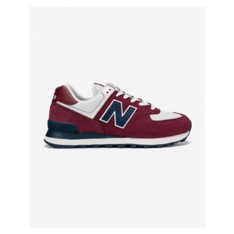 New Balance 574 Tenisówki Czerwony
