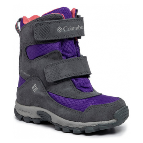Columbia Śniegowce Childrens Parkers Peak Boot YC5409 Fioletowy