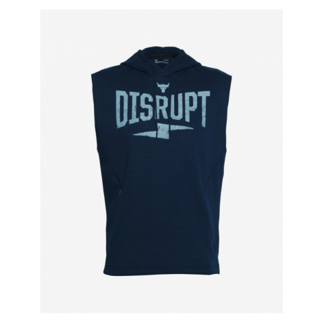 Under Armour Project Rock Charged Cotton® Bluza Niebieski
