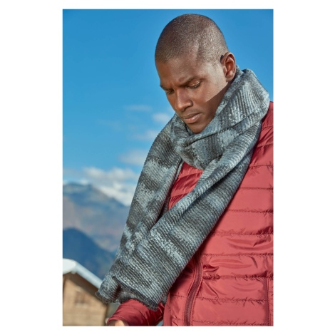 Trendyol Grey Mens Scarf-Gradient