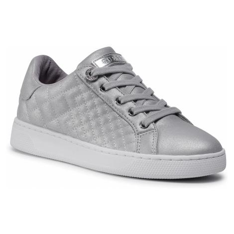 Sneakersy GUESS - Reace FL7REE LEL12 SILVE