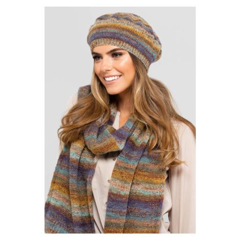 Kamea Woman's Hat K.19.052.06 Wielobarwny