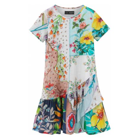 Desigual kolorowy dziewczęca sukienka Vest Noemi