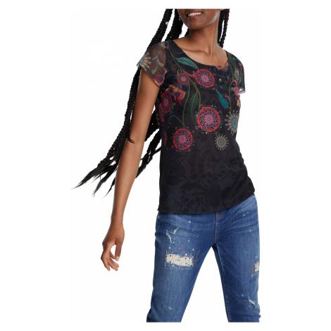 Desigual czarna koszulka TS Karen