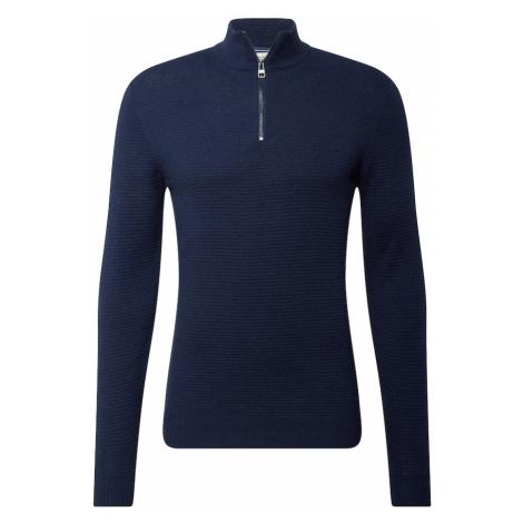 ESPRIT Sweter ciemny niebieski