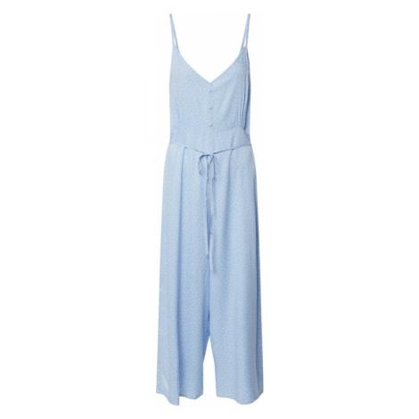 Miss Selfridge Kombinezon 'BLUE SPOT ROMPER JUMPSUIT' jasnoniebieski