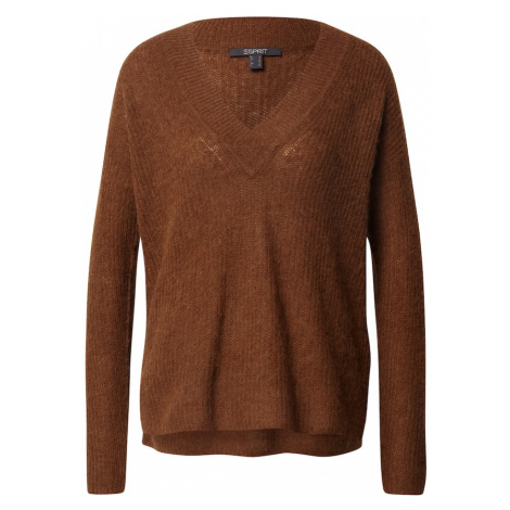 Esprit Collection Sweter karmelowy