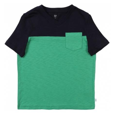 GAP Koszulka niebieski / zielony