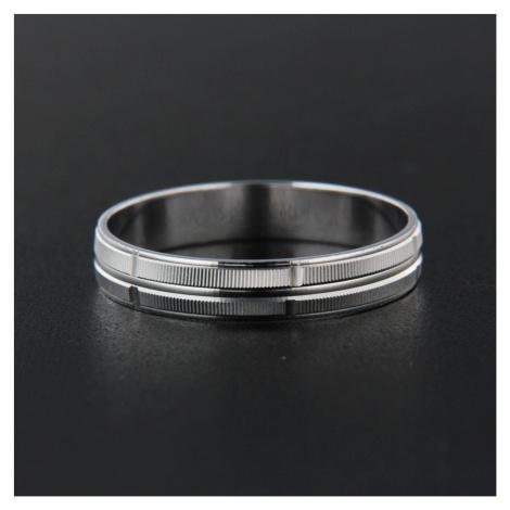 Pierścionek srebrny 13834