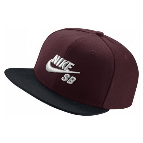 Nike czapka z daszkiem U NK CAP PRO Misc Red