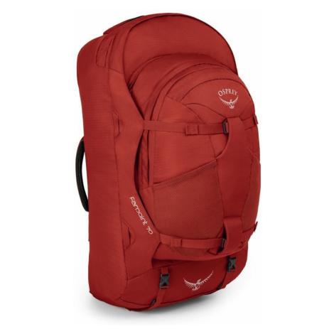 Czerwone męskie torby podróżne
