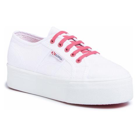 Tenisówki SUPERGA - 2790 Cotwcontrast S1114DW White/Pink Extase