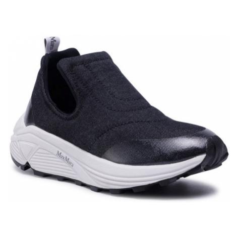 Max Mara Sneakersy Richard 47660107600 Czarny