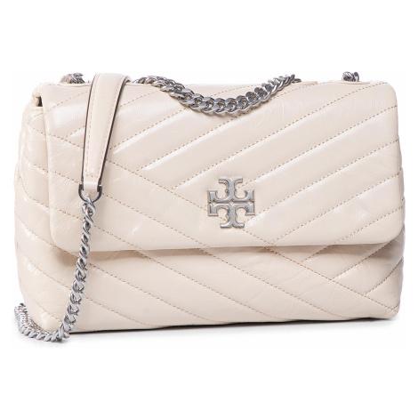 Torebka TORY BURCH - Kira Chevron Distressed Small Convertible Shoulder Bag 75447 New Cream 122