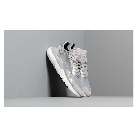adidas Nite Jogger Silver Mate/ Light Solid Green/ Core Black