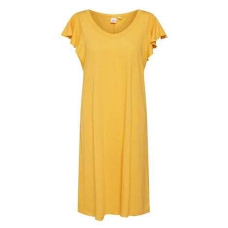 GAP Letnia sukienka 'SS FLTR SWNG DRS - SLD' żółty