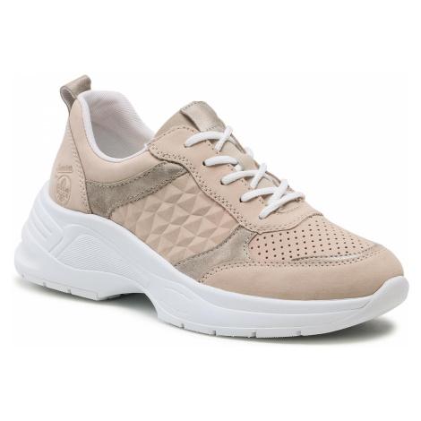 Sneakersy RIEKER - 59426-60 Beige