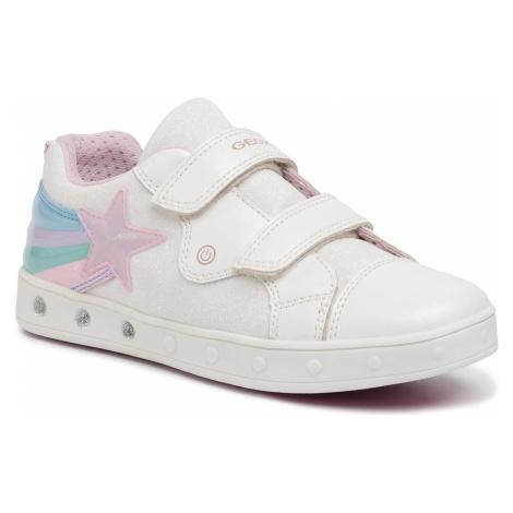 Sneakersy GEOX - J Skylin G. C J028WC 0ASAJ C1000 D White