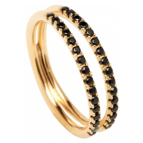 P D PAOLA Pierścionek 'Nix Gold Ring' złoty