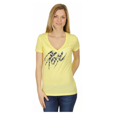 koszulka Fox Brushed Vneck - Blondie