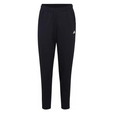 ADIDAS PERFORMANCE Spodnie sportowe niebieska noc / biały