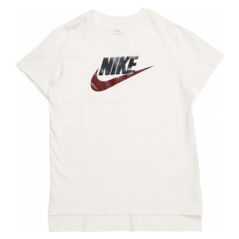 Nike Sportswear Koszulka czerwony / czarny / biały