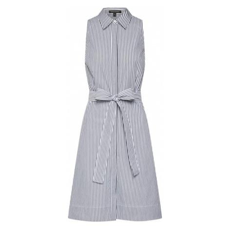 Banana Republic Sukienka koszulowa ciemny niebieski / biały