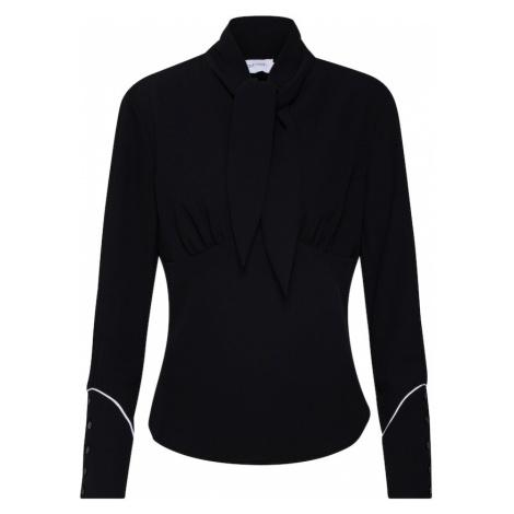Calvin Klein Bluzka 'BOW TIE BLOUSE LS' czarny