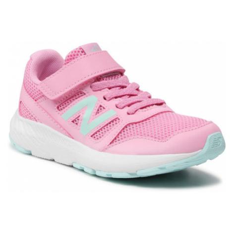 New Balance Sneakersy YT570PB2 Różowy