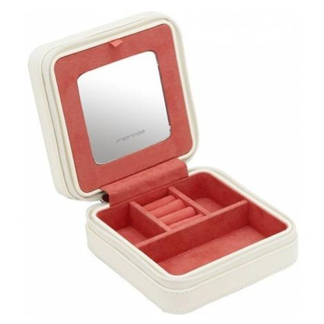 Friedrich Lederwaren Biżuteria podróżna Biało-czerwona Mandala 20131-1