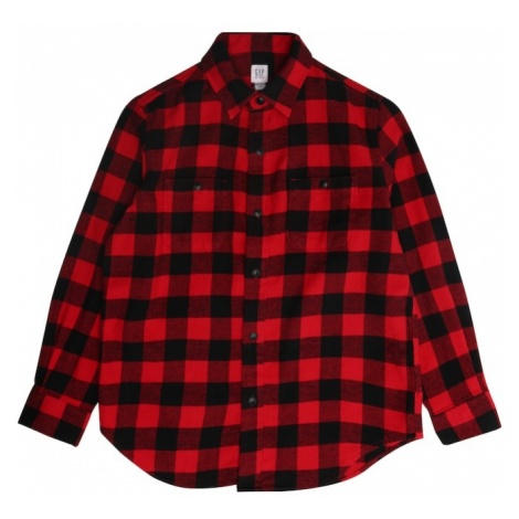 GAP Koszula 'BUFF' czerwony / czarny