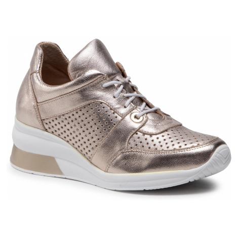 Sneakersy EKSBUT - 2C-6171-G45/R17 Złoty