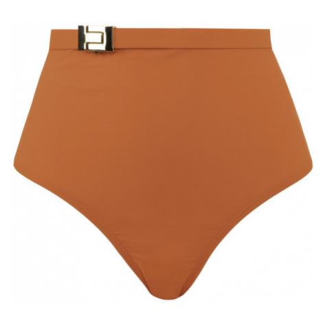 Tory Burch Dół od bikini T-Belt High-Waisted Bottom 61384 Pomarańczowy