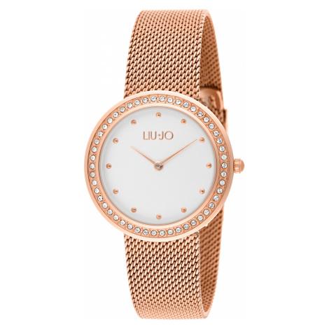 Liu Jo Luxury Round Zegarek Złoty