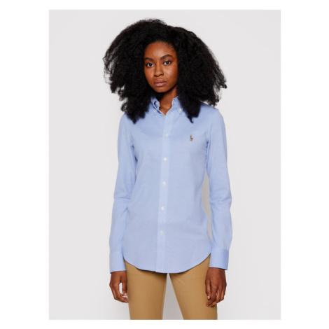Polo Ralph Lauren Koszula Heidi 211664427001 Niebieski Slim Fit