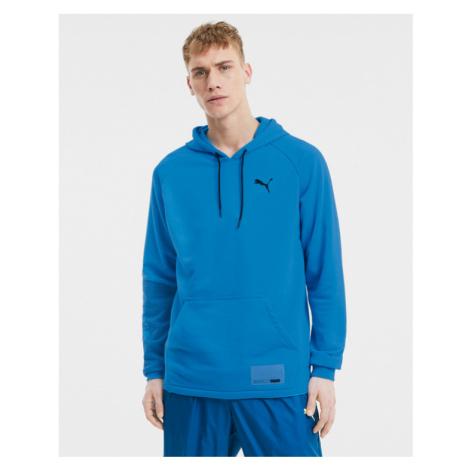 Puma Train Graphic Bluza Niebieski