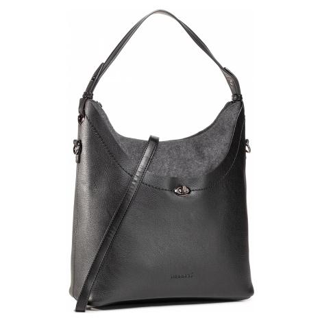 Czarne damskie hobo torebki