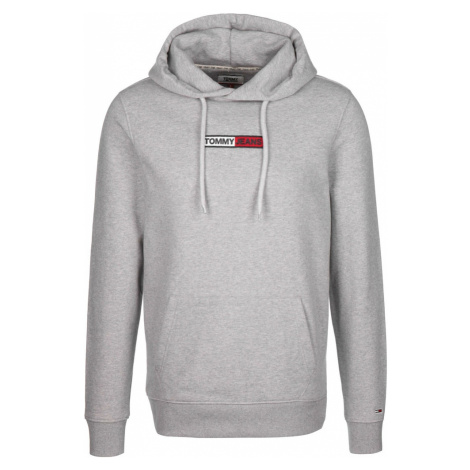 Tommy Jeans Bluzka sportowa ' Embroidered Box ' szary Tommy Hilfiger