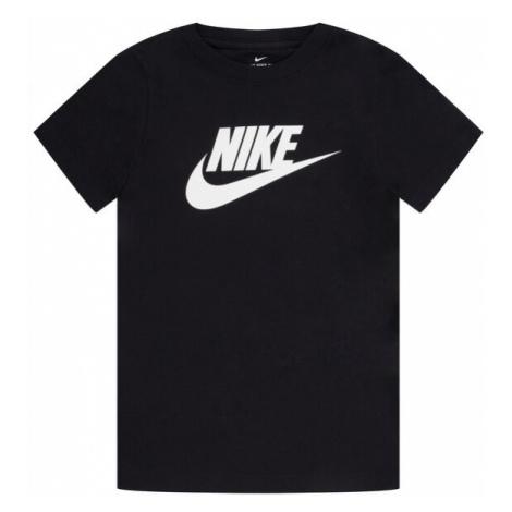 NIKE T-Shirt Sportswear AR5252 Czarny Standard Fit