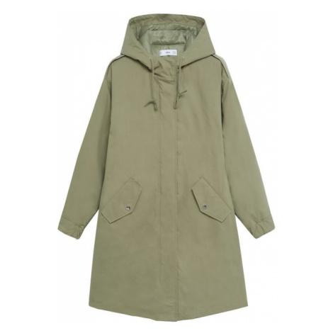MANGO Płaszcz zimowy 'Pumkins' khaki