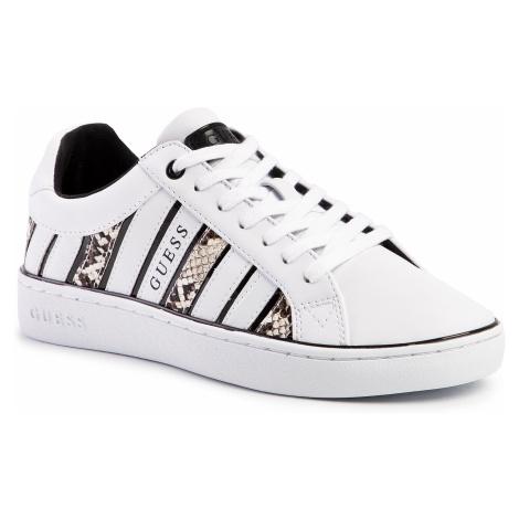 Sneakersy GUESS - Bolier2 FL5BO 2PEL12 WHITE/NUDE