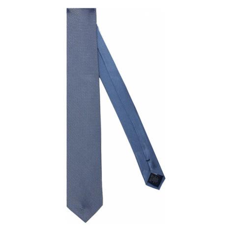 Tommy Hilfiger Tailored Krawat Micro Design TT0TT07636 Niebieski
