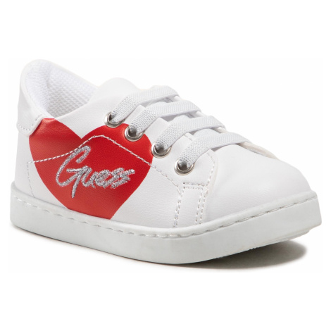 Sneakersy GUESS - Ellie FT5ELL ELE12 WHITE