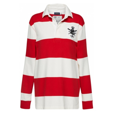POLO RALPH LAUREN Koszulka czerwony / offwhite