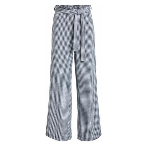 OBJECT Spodnie granatowy / biały