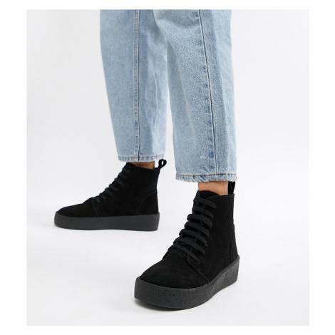 ASOS DESIGN Dixon suede trainer boots