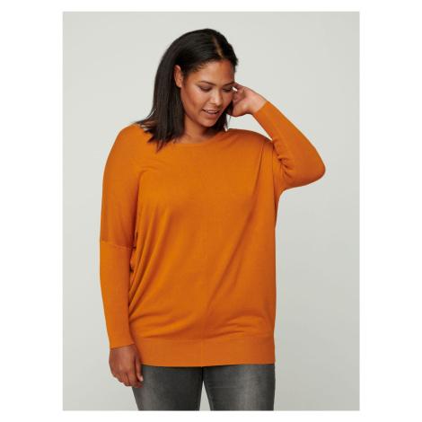 Zizzi pomarańczowy sweter