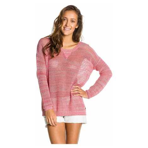 sweter Roxy Pink Blazing - RNE0/Washed Red