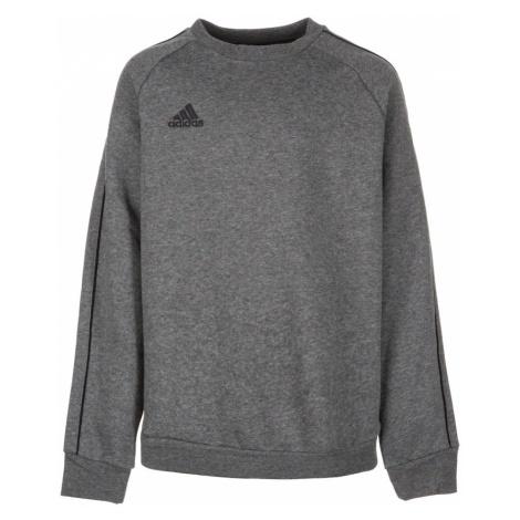 ADIDAS PERFORMANCE Bluza sportowa 'Core 18' nakrapiany szary / czarny