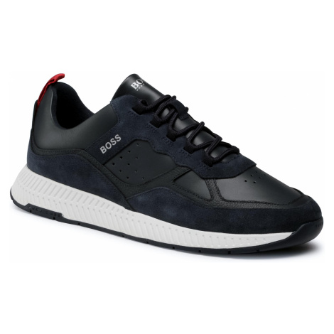 Sneakersy BOSS - Titanium 50440763 10214595 01 Dark Blue 407 Hugo Boss